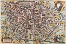 map of bologna map of bologna from civitates orbis terrarum posters prints by