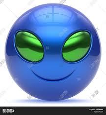 smiley alien face cartoon cute head image u0026 photo bigstock