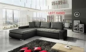Real Leather Corner Sofa Bed With Storage by New Cascina Fabric Corner Sofa Bed With Storage In Black Grey Or