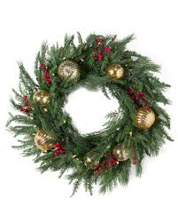 Holiday Wreath Pine Peak Swag With Pinecones Balsam Hill