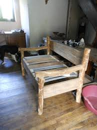 canapé fait maison