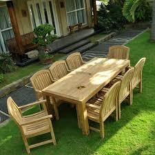 Teak Outdoor Table Cornwal