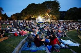 Outdoor Cinema Botanical Gardens Moonlight Cinema By May
