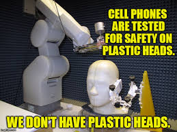 Big Phone Meme - if wireless radiation exposure is no big deal why do manuals for