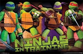 teenage mutant ninja turtles profile wall poster