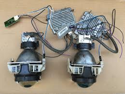 stock jeep headlights 2x factory oem 14 17 jeep grand cherokee hid headlight bi xenon