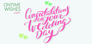 wedding wishes png congratulation wishes for wedding ontime wishes