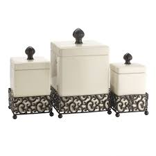 Kitchen Canisters Glass Furniture Home Ceramic Kitchen Canisters Attractive And