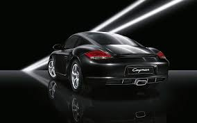 Photo Collection Porsche Cayman Black Wallpaper