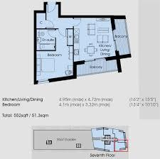 1 bedroom flat for sale in 7th floor stratford riverside