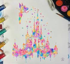 25 disney castle silhouette ideas