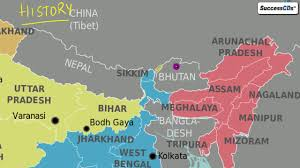 Varanasi India Map by All About Doklam Standoff Between China India Explained Latest