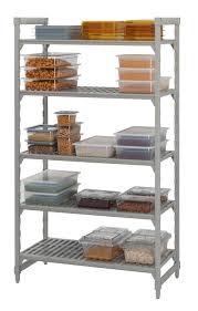 metallregal küche modernes regal aus polypropylen gewerbe für küchen