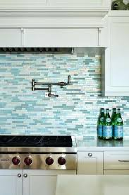 Blue Glass Kitchen Backsplash Blue Glass Backsplash Tiles Blue Glass Tile Light Blue Glass