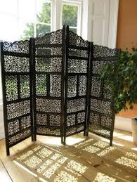 sheesham wood wooden screen partition kashmiri 72x80 4 exquisite pine carved screen panels folding screens and room
