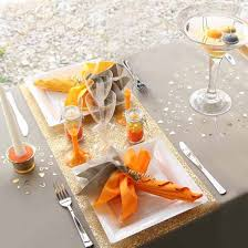 table decoration table decoration ideas orange colors for fall decorating
