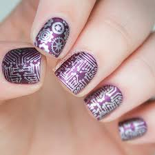 too nerdy nah just nerdy enough circuitboardnails beauty
