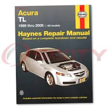 acura tl haynes repair manual base type s shop service garage book th