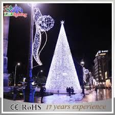 spiral lighted christmas tree elegant outdoor holiday lighting