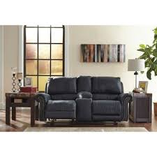 Ashley Reclining Loveseat With Console Loveseat Signature Design By Ashley Furniture Store Shop The
