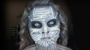 game of thrones white walker halloween makeup tutorial youtube