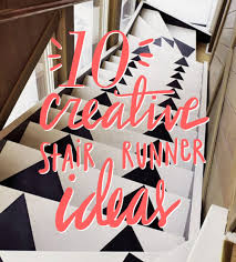 10 creative diy stair runner ideas u2013 design sponge