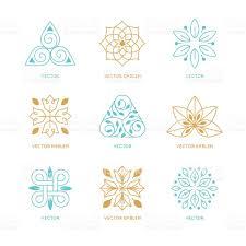vector set of logo design templates and symbols stock vector art