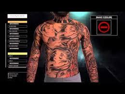 full body tattoo nba 2k16 nba 2k16 tips tricks full body tattoo tutorial how to make the best