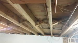 basement insulation for basement ceiling basement ceiling options