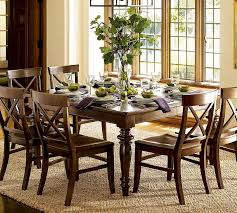 Cherry Wood Dining Room Furniture Interior Excellent Breakfast Room Decoration Using Light Green
