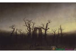 le si e de opactwo w dębowym lesie caspar david friedrich