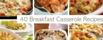 ideas for a brunch 40 breakfast casseroles christmas brunch recipes
