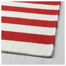 stockholm 2017 rug flatwoven handmade striped red 250x350 cm ikea