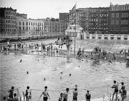 Kosciusko Water And Light History Of Parks U0027 Swimming Pools Nyc Parks