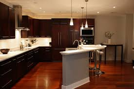 white kitchen cabinets hardwood floors granite lavish home design