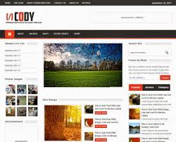 50 beautiful templates converted from wordpress to blogger cool