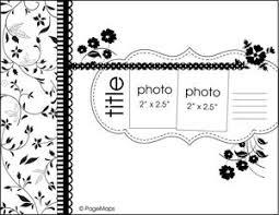 105 best 8 5x11 scrapbook sketches images on pinterest scrapbook