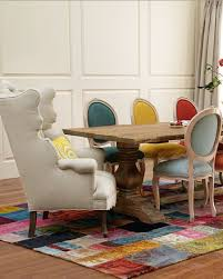 colorful dining table elegant and colorful dining room furniture