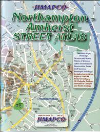 map of northton ma northton amherst atlas jimapco