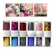 new20 bottles 3d nail art glitter rhinestone powder tips