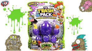 trash pack series 6 rotten eggs 12 pack toy review u0026 unboxing