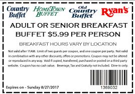 Hometown Buffet Jobs by Hometown Buffet Coupon 5 99 Or Senior Breakfast Buffet 8