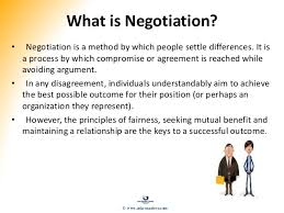 Seeking Negotiation Negotiation Conflict Management Presentation Slides