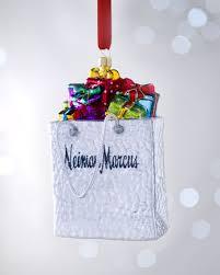 nm shopping bag ornament