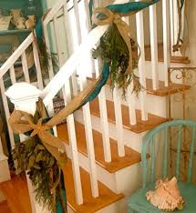 How To Decorate Banister With Garland 10 Ways How To Use To Decorate For Christmas Completely Coastal
