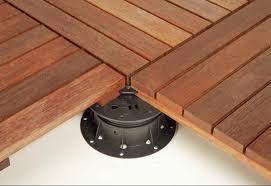 deck tiles patio tigerwood tile connectors premium brazilian