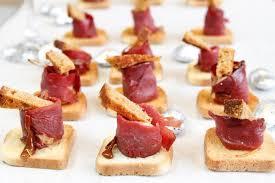 canap foie gras toasts foie gras magret au caramel d arome maggi