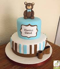 teddy baby shower baby shower cakes teddy cakes for baby showers