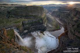 Waterfalls of washington palouse falls palouse falls state park