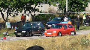 opel fiat street race opel corsa a gsi vs fiat uno turbo youtube